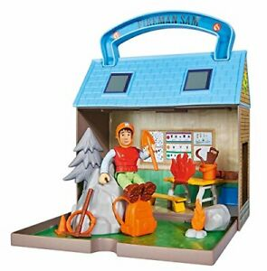 BEST 109251032 Fireman Sam Mountain Rescue Centre With 2 Figures Moose I UK  FAS 864304742291   eBay