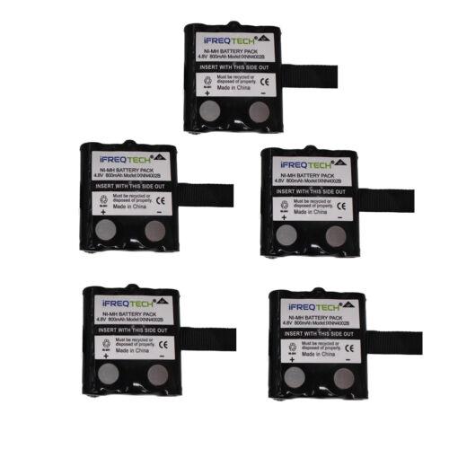 BP-38 BP-39 BP-40 IXNN4002B PMNN4426 NI-MH Battery For Uniden 5Pack 800mAh