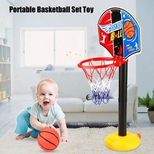 Kids-Sports-Mini-Basketball-Backboard-Hoop-Net-Set-Indoor-Outdoor-Toy-W-Ball