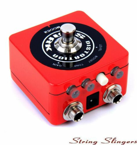 Mooer Spark Distortion Effects Pedal, glow in the dark, MSPARKD1