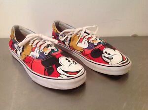 f8f32b35cb VANS Men s Limited Ed. Disney Mickey   Friends Shoes Sneakers Sz 11 ...