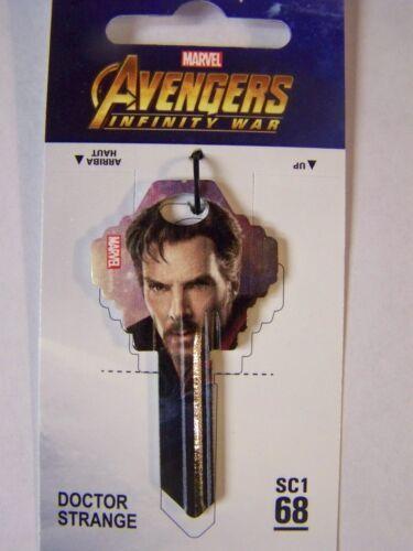 Dr Strange Marvel Avengers Schlage SC1 house key blank