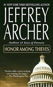 HONOR-AMONG-THIEVES-by-Jeffrey-Archer-FREE-SHIPPING-paperback-book-suspense-CIA