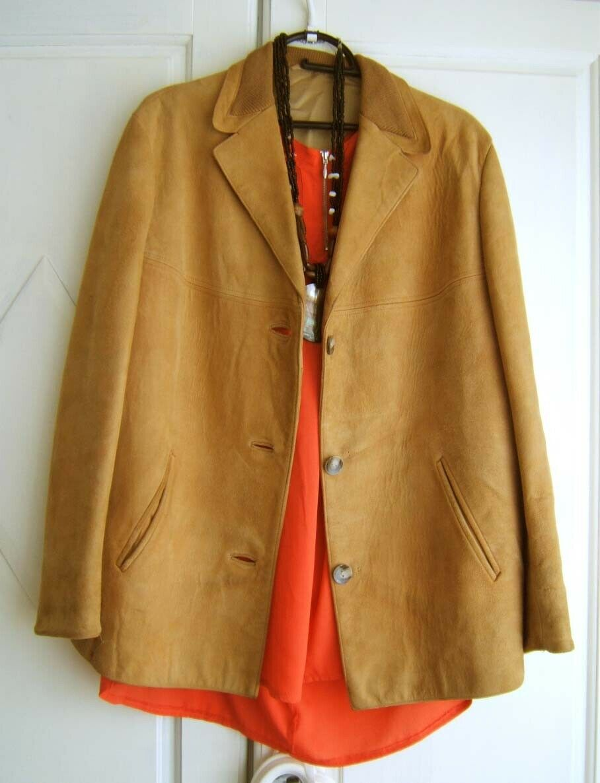 wholesale dealer eeae2 52587 Vintage damen Velours Western Wildleder Jacke 42d74hsom2675 ...