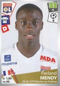 187 ferland mendy olympique lyonnais ol le havre hac sticker panini foot 2018 ebay. Black Bedroom Furniture Sets. Home Design Ideas