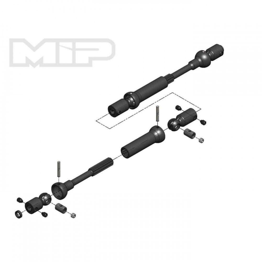 MIP Center Drive Kit  120mm-145mm w/ 5mm Hubs MIP18190