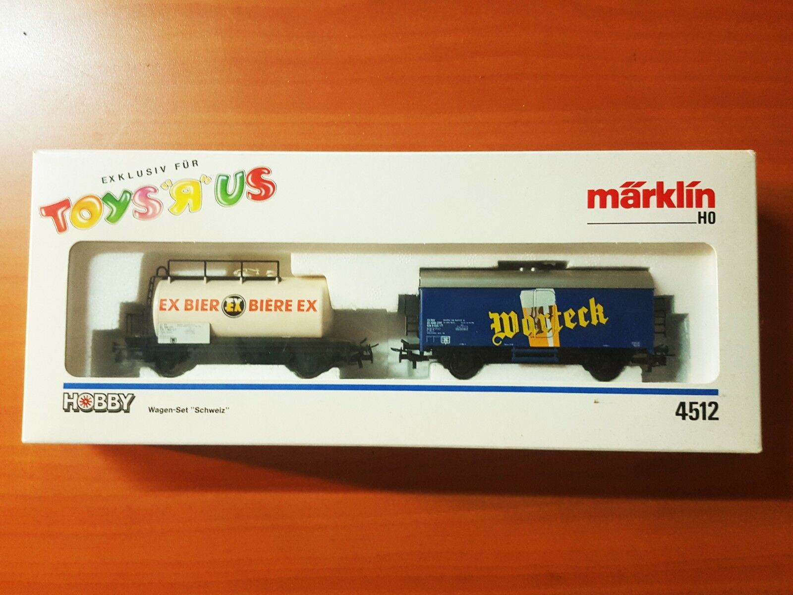 Märklin H0 4512 wagenset Schweiz Excl. Toys R US
