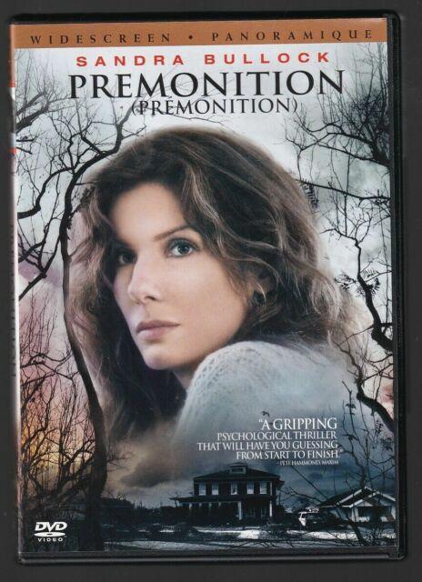 Premonition (DVD, 2007, Widescreen Bilingual) Free Shipping In Canada