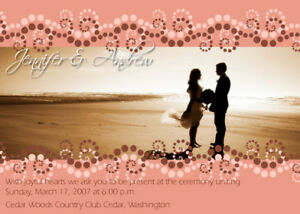 Details About Wedding Invitation Cards Photoshop Templates Psd Vol3