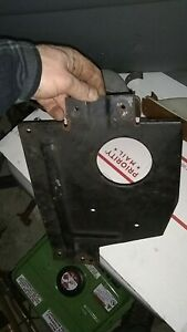 78 Toyota Corona 20R Air Ducting Intake Routing Sil Prop Panel Steel Plate