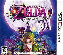 Legend of Zelda: Majora's Mask 3D (Nintendo 3DS, 2015)