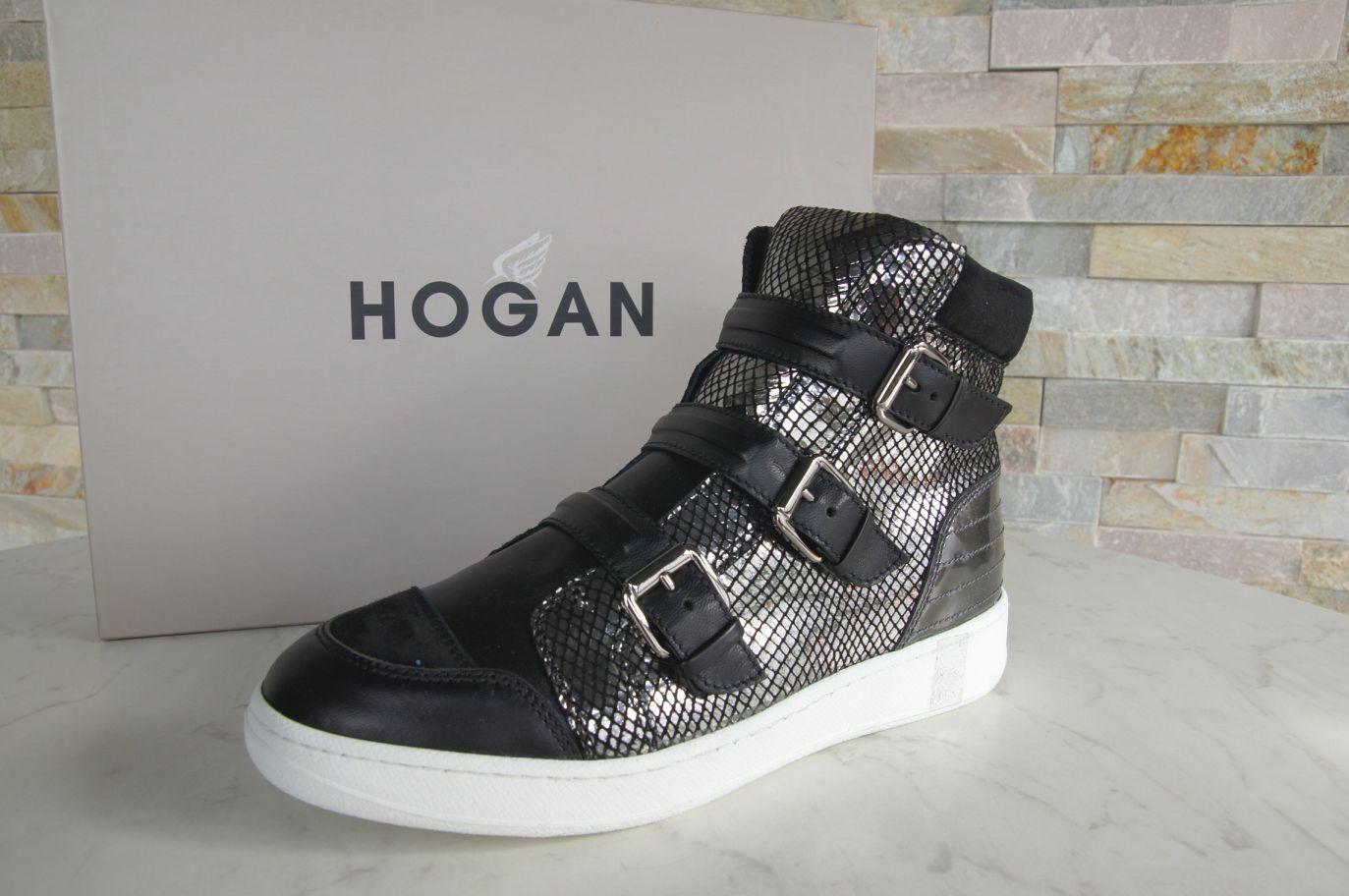 Hogan GR 38,5 High-Top sneakers botines zapatos botitas metal nuevo PVP