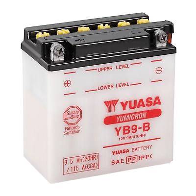 Batterie Piaggio 1998 YUASA YB9-B Vespa Sfera 125 ZAPM01 Bj