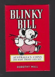 2011-Royal-Australian-Mint-BABY-PROOF-Set-Year-Birthday-Gift-Blinky-Bill-Series