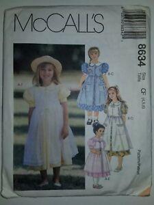 Dress-Pinafore-Easter-Sewing-Pattern-Child-Girls-4-5-6-CF-McCalls-8634-UC-FF