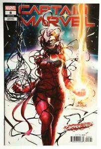 Captain-Marvel-8-InHyuk-Lee-Variant-Carnage-Ized-1st-Appearance-of-Star