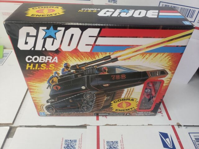 BRAND NEW HASBRO G.I. JOE COBRA H.I.S.S. COBRA ENEMY FO127 FAST/FREE SHIPPING!!!