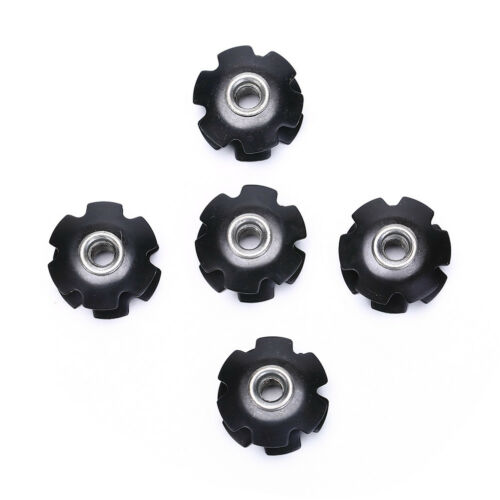 """1pcs Bike Bicycle Cycling Steer Tube Headset Aluminum Star Nut 1 1//8/"""" 28.6mm ZY"""