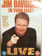 JIM DAVIDSON - IN YOUR FACE ~ Classic Stand-Up Comedy Show | UK DVD