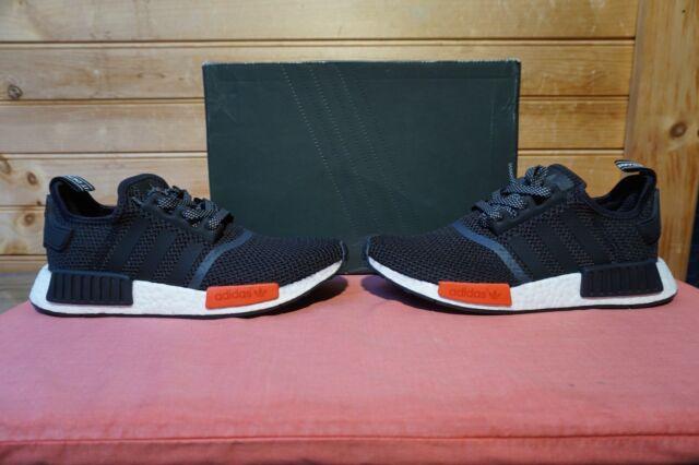 adidas Originals NMD R1 EU Footlocker Limited Black Red Men Aq4498 7 ... 4d44dd09e