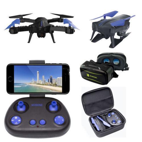 MiDrone Vision 220HD Drone con VR Auriculares Y Estuche RRP