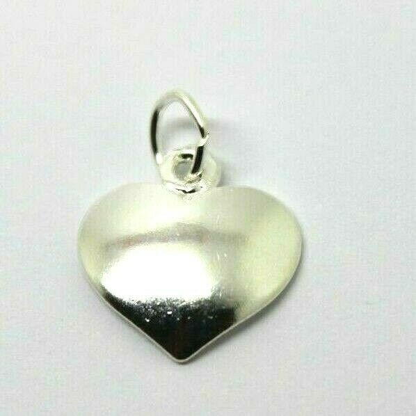 Sterling Silver Heart Charm or pendant charm + jump ring *Free post in Australia