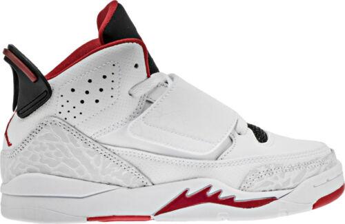 "Nike Preschool JORDAN SON OF MARS /""FIRE RED/"" NEW AUTHENTIC White//Red 512247-112"
