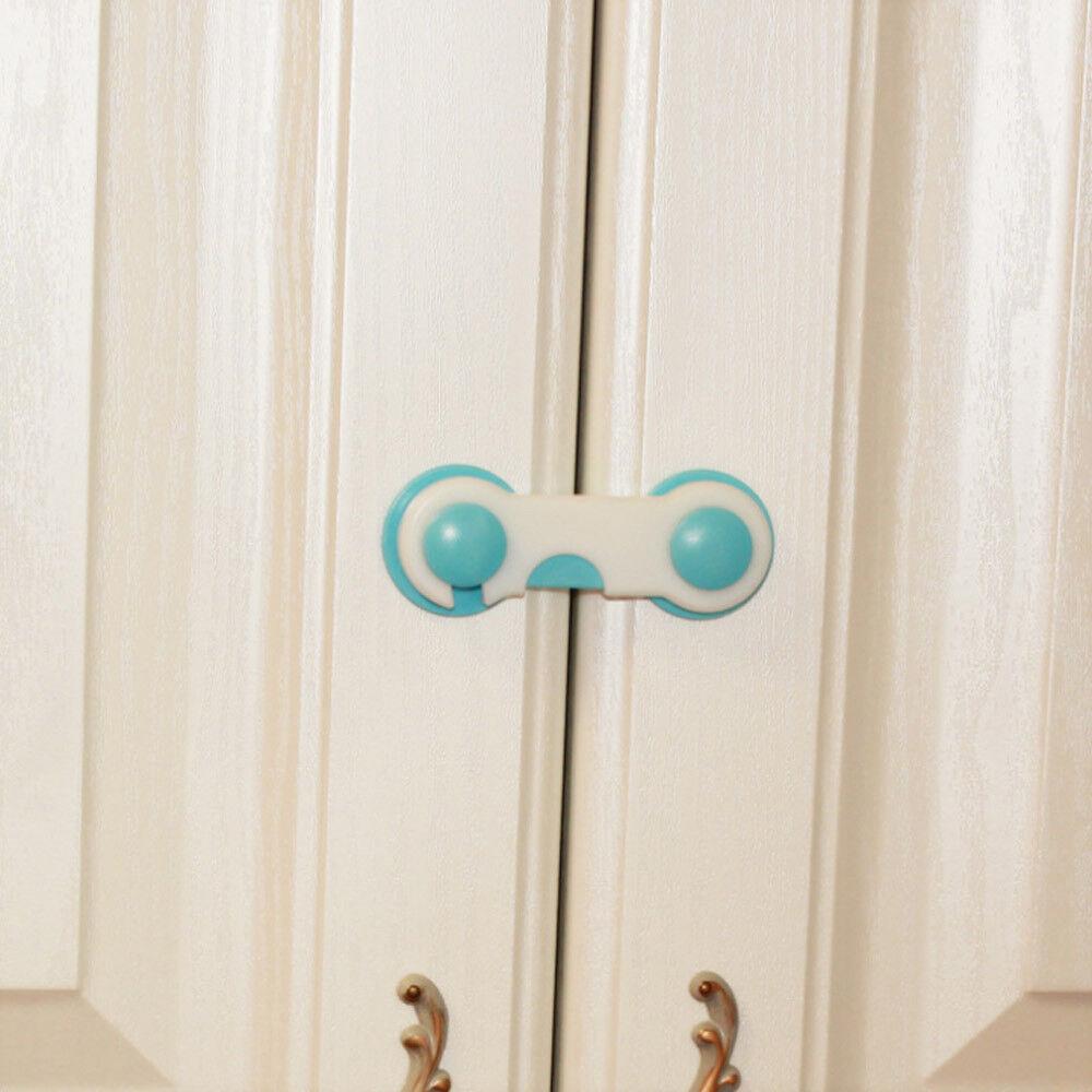 1 * Baby Safety Cabinet Door Drawer Lock Fridge Toilet Security Kids Care Straps