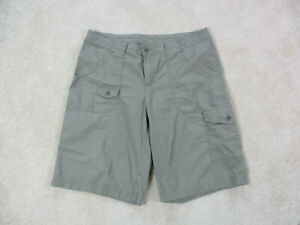 Columbia-Shorts-Womens-14-Green-Fishing-Hiker-Hiking-Outdoors-Casual-Ladies