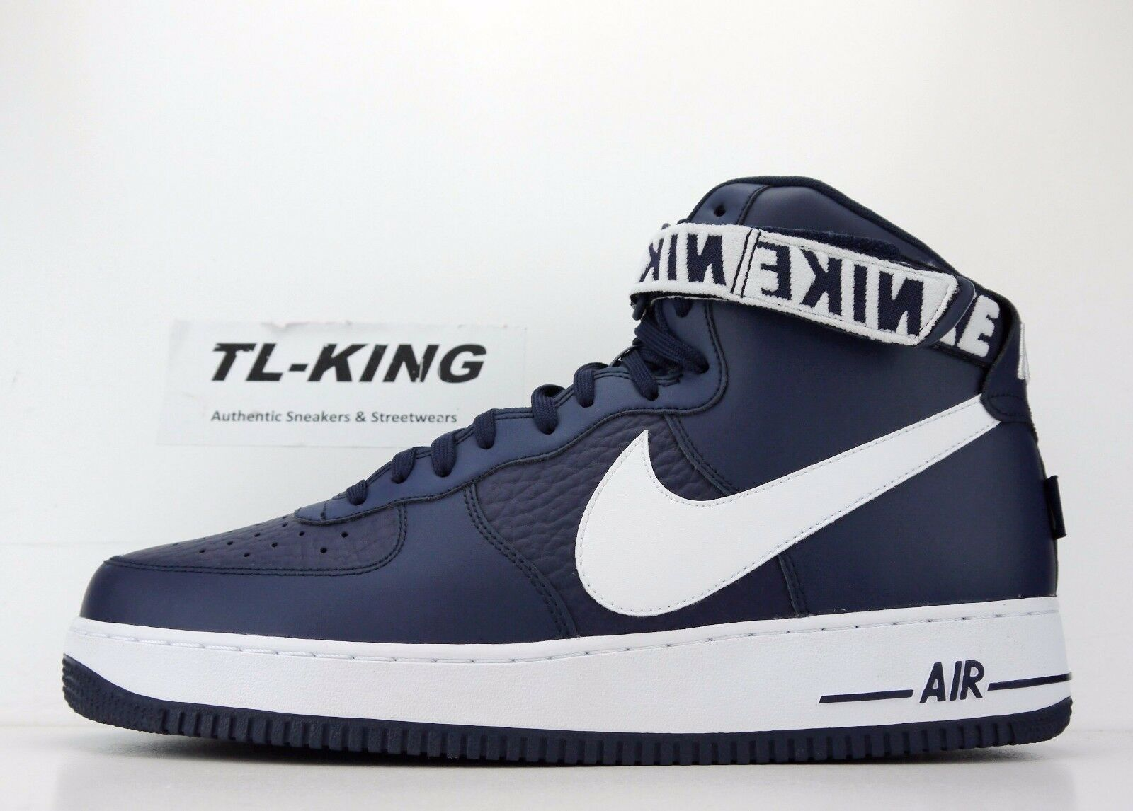 nike air force - 1 hohe '07 nba - force packung großen swoosh college navy weiße 315121-414 sein 89c17b