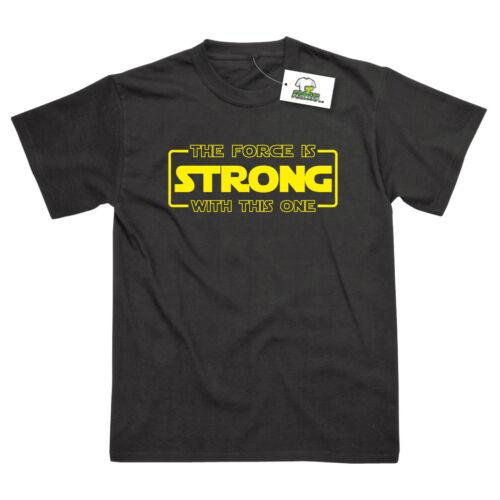 Force è forte con questo Ispirato a Star Wars Yoda Kids T-shirt