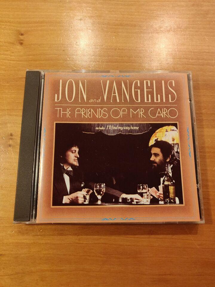 Jon Anderson & Vangelis: The Friends of Mr. Cairo,
