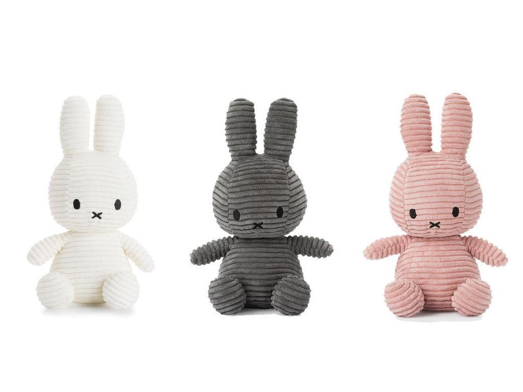 Miffy Cord-Plüschfigur  50cm  Peluche Animali Impagliati Lepre Bunny Kord