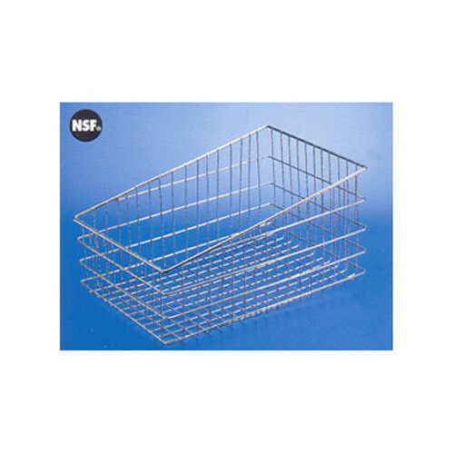 "11/"" X 18/"" Wire Bagel Basket Slanted"