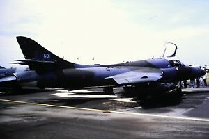 3-831-Hawker-Hunter-T7-XL591-4FTS-RAF-Valley-Anglesey-1975-Kodachrome-SLIDE
