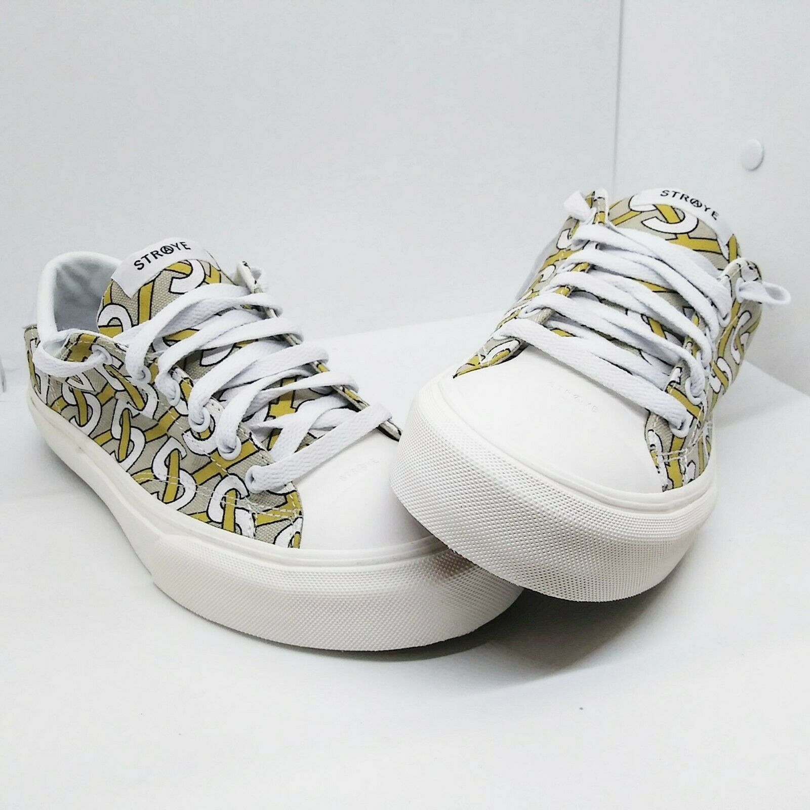 STRAYE 100%authentic Men's low Shoes size 9 STANLEY LINKS BONE
