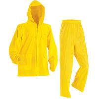 Stearns Industrial 3-pc Pvc Vinyl Rain Suit Box Of 6 Xl Ste8000