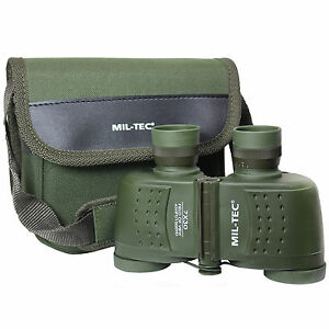 Military-7x30-BINOCULARS-and-Carry-Case-Olive-Green-Army-M730-Waterproof-New