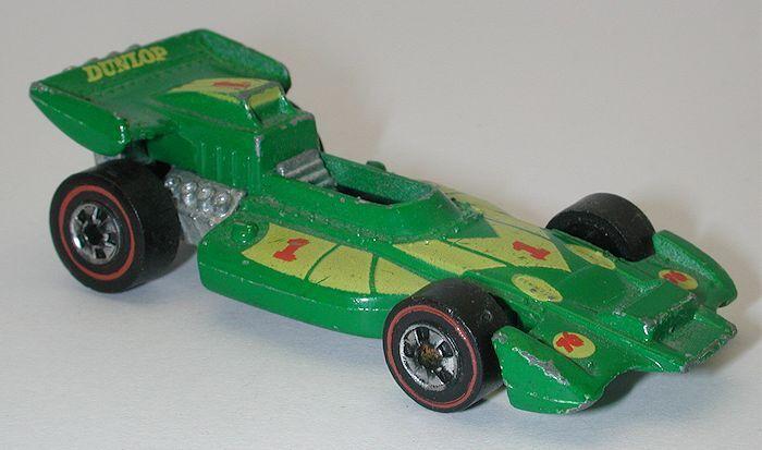 Redline Hotwheels Green 1974 El Rey Special