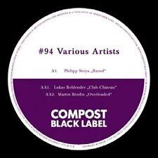 STOYA/BOHLENDER/BRODIN - COMPOST BLACK LABEL 94 NEW VINYL RECORD