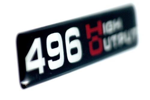 Super Sized SATIN//BLACK HO B 496 High Output  EMBLEM