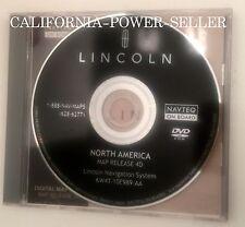 LINCOLN LS TOWNCAR NAVIGATOR AVIATOR NAVIGATION DISC DVD CD GPS MAP DISK 4D
