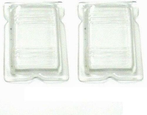 1940 Ford passenger Car and Truck Clear glass park lamp lens PAIR