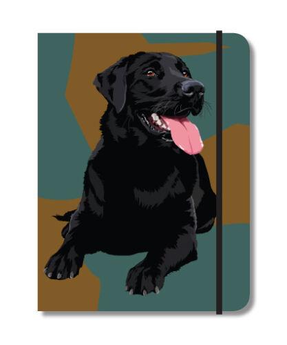 Black Lab Notebook Labrador Dog Gift//Present