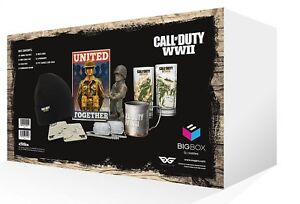 Call Of Duty WWII World War 2 Big Box Accessories & Collectibles BOX ALTRI