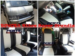 Toyota-HiAce-Grandia-High-quality-Factory-Fit-Customized-Leather-CAR-SEAT-COVER