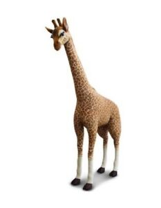Holiday Sale Fao Schwarz 7ft Plush Giraffe Toy Bring The Safari