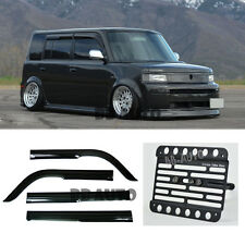 For 04-06 Toyota bB Scion xB Mugen Style Window Visor + Tow Hook License Plate