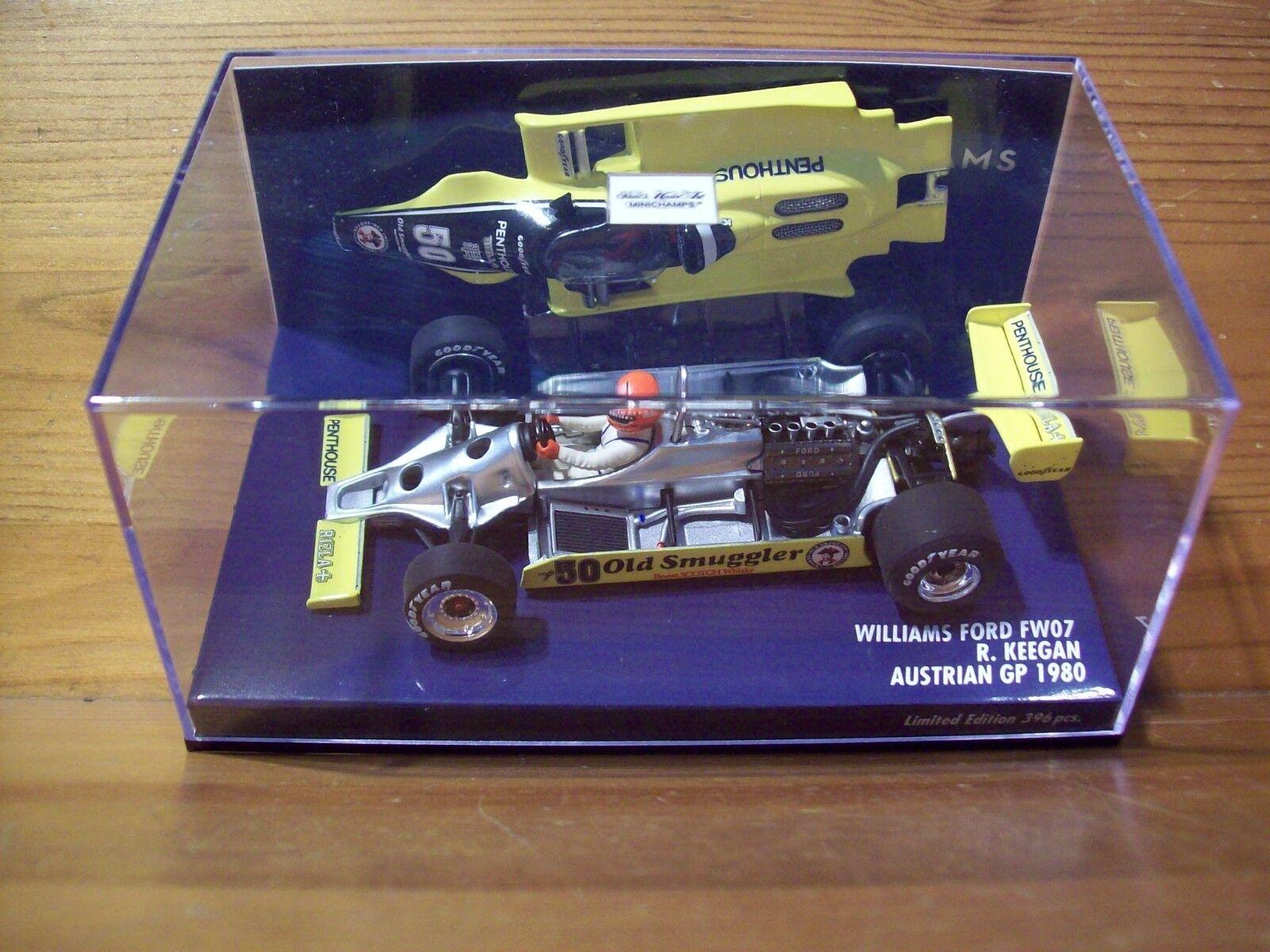 1 43 WILLIAMS FORD FW07 RUPERT KEEGAN AUSTRIAN GP 1980