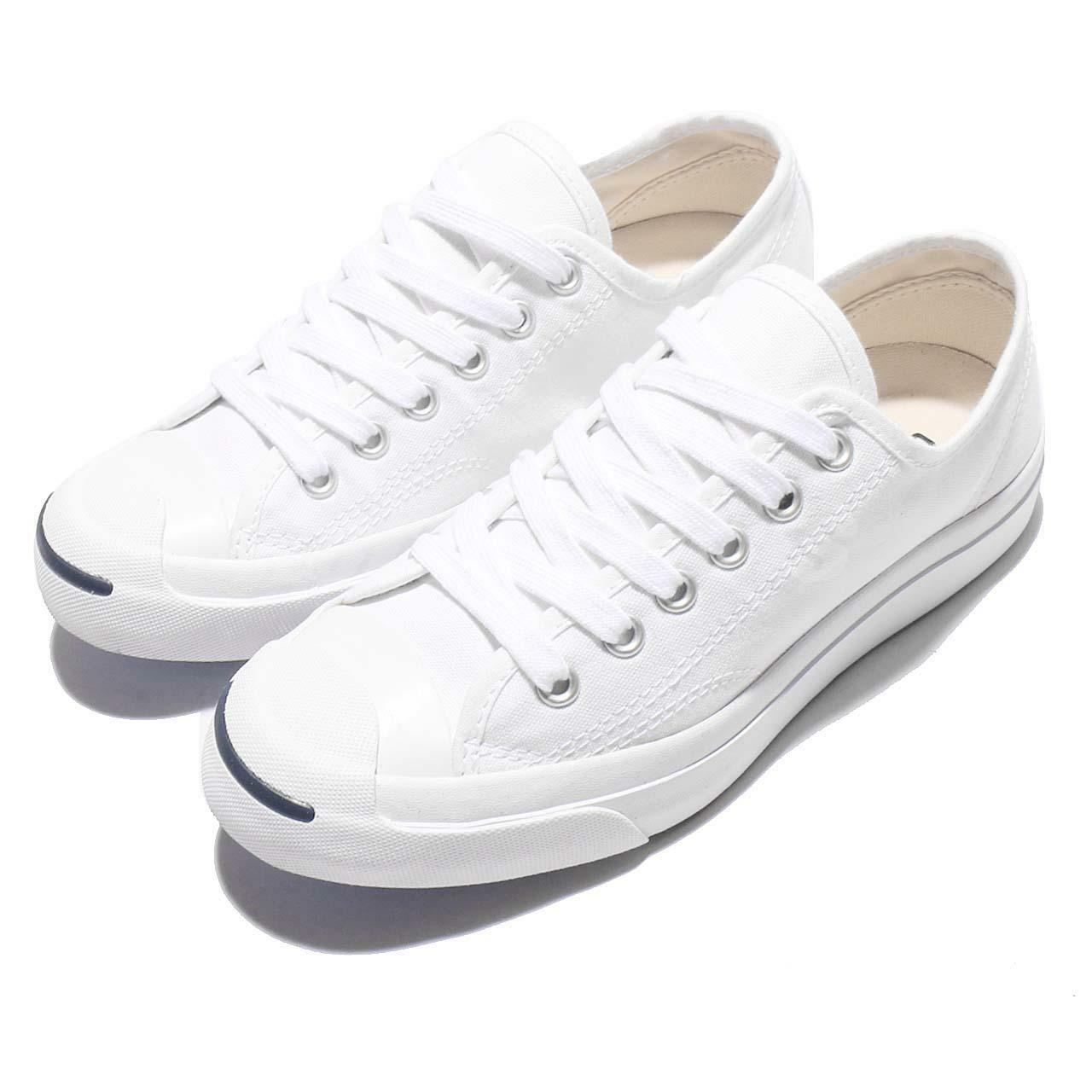Converse Jack Purcell CP OX White Canvas Uomo Donna Classic Casual Shoes 1Q698